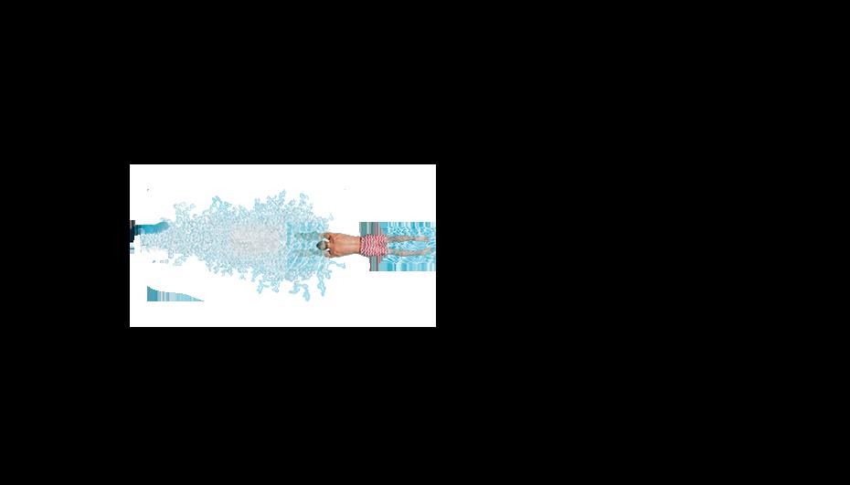 Blassblau